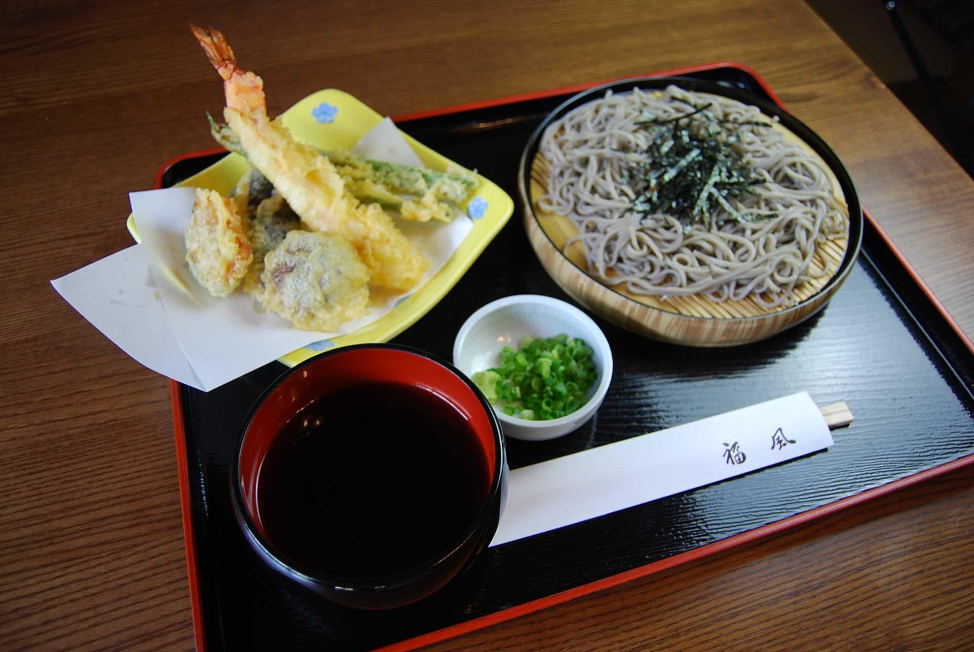 天ざる蕎麦(うどん)